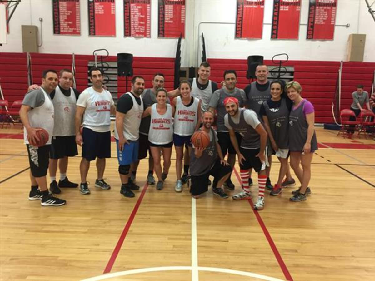 Teachers Hit The Court