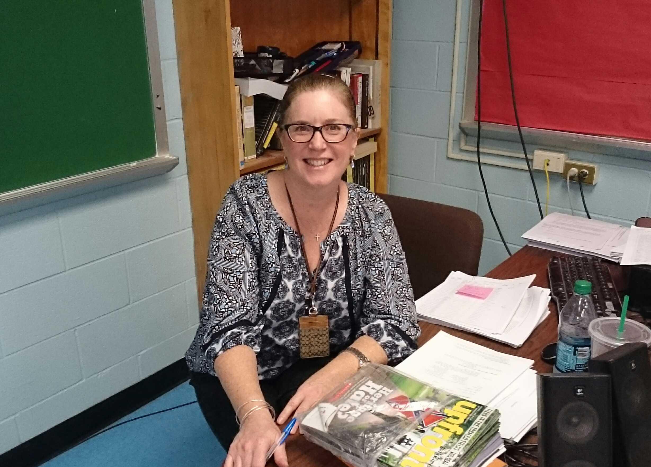 Ms. Hayden Wins Favorite Teacher