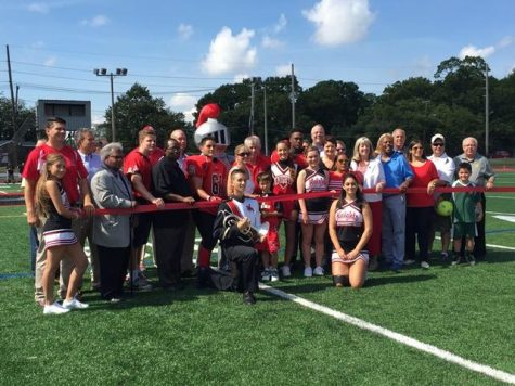 Ribbon Cutting Dedicates New Turf Field