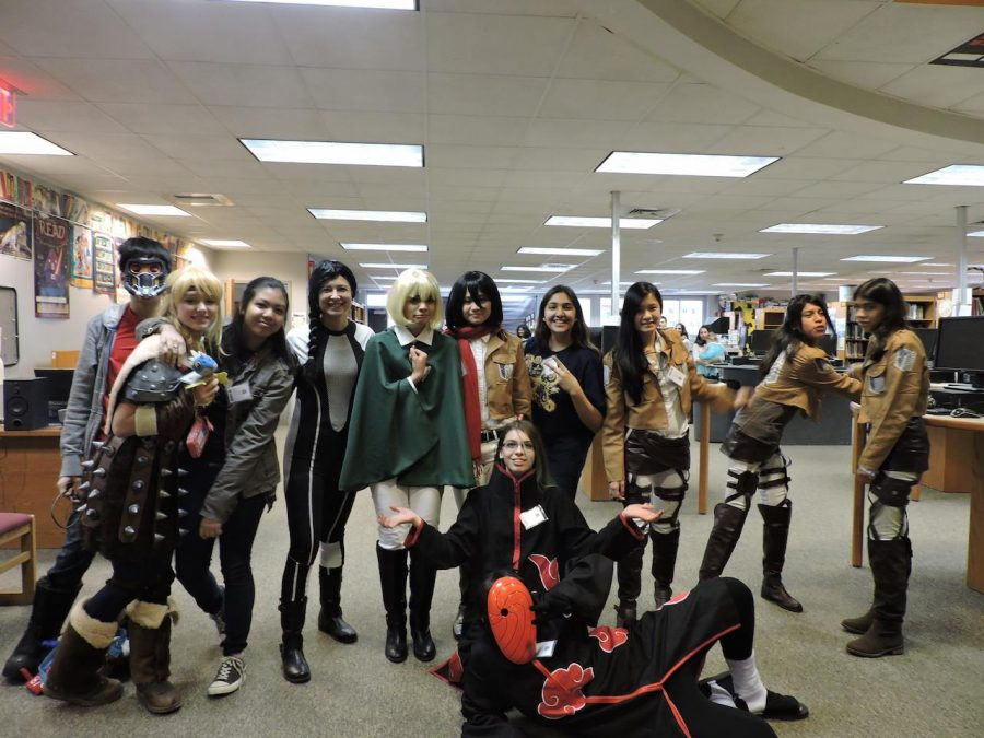 Sewanhaka District students dressed up as their favorite fictional characters at the event.