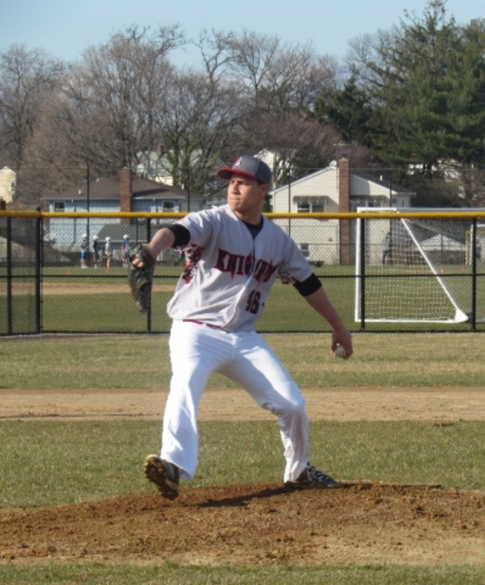 Senior Baseball Player Shines