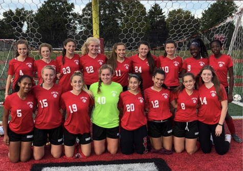 Girls' Soccer Team Spoils Carle Place Senior Day
