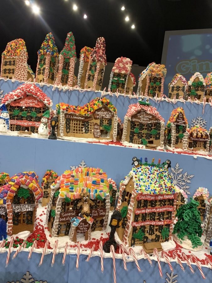 Gingerbread house?  How about a gingerbread village?!?!