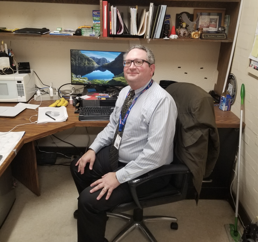 Social Studies Department Gets A New Leader