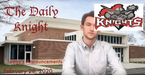 The Daily Knight – Friday, 2/28/2020