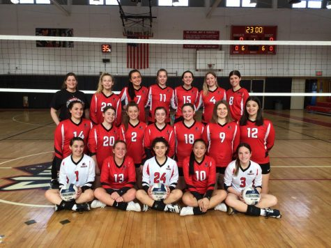 Girls Volleyball Has Successful Season