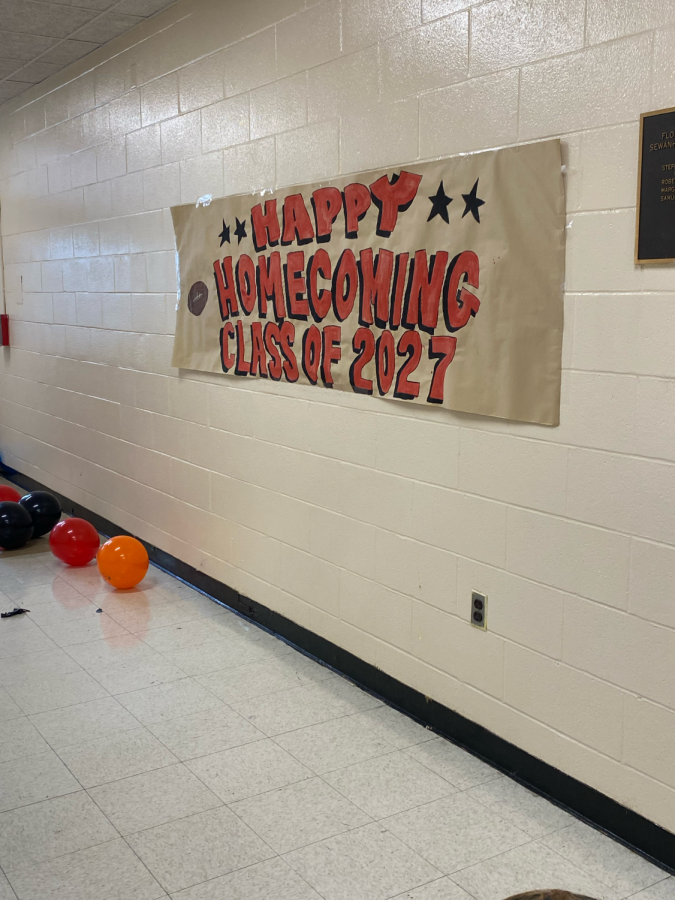 Junior High Students Create Spirited Phineas and Ferb Hallway
